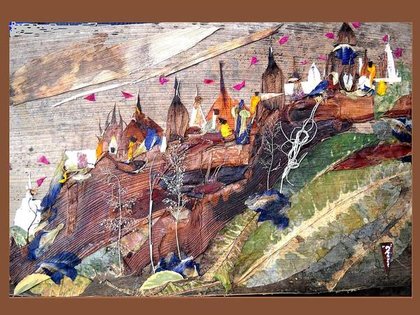 Temple Mixed Media - Series Of Temples by Basant Soni
