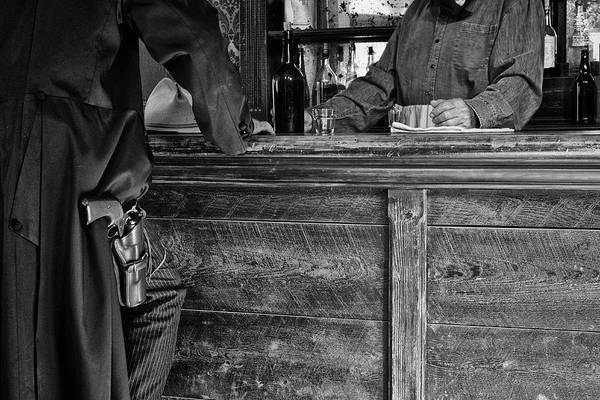 Gunslinger Photograph - Serious Intent by Mary Lee Dereske