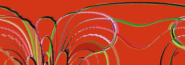 Digital Art - Serpentine by Ben and Raisa Gertsberg