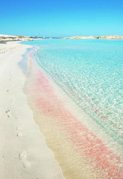 Spain Photograph - Ses Illetes Beach, Formentera, Balearic by Marco Simoni / Robertharding