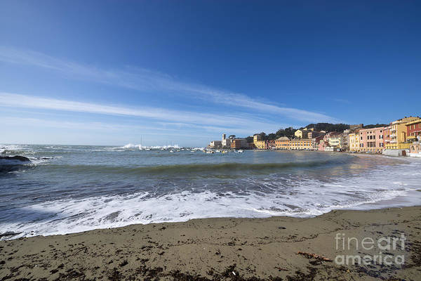 Sestri Levante Photograph - Sestri Levante And Beach by Mats Silvan