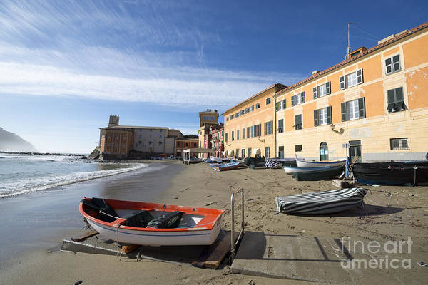 Sestri Levante Photograph - Sestri Levante And The Beach by Mats Silvan