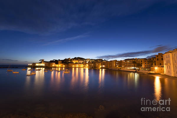 Sestri Levante Photograph - Sestri Levante By Night by Mats Silvan
