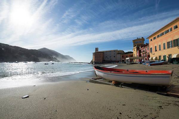 Levante Wall Art - Photograph - Sestri Levante - Cinque Terre by Mats Silvan