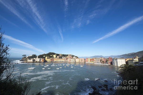 Sestri Levante Photograph - Sestri Levante With Clouds by Mats Silvan