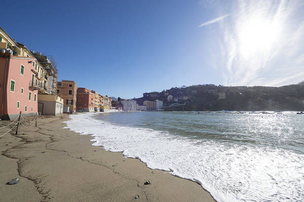 Sestri Levante Photograph - Sestri Levante With The Beach by Mats Silvan