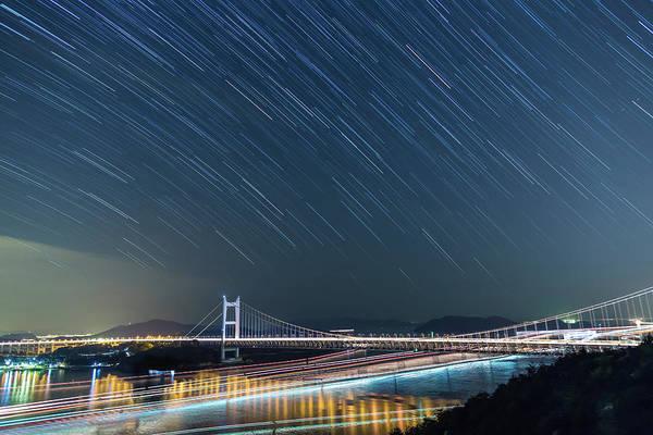 Okayama Prefecture Photograph - Seto Inland Sea Traffic by Tdubphoto