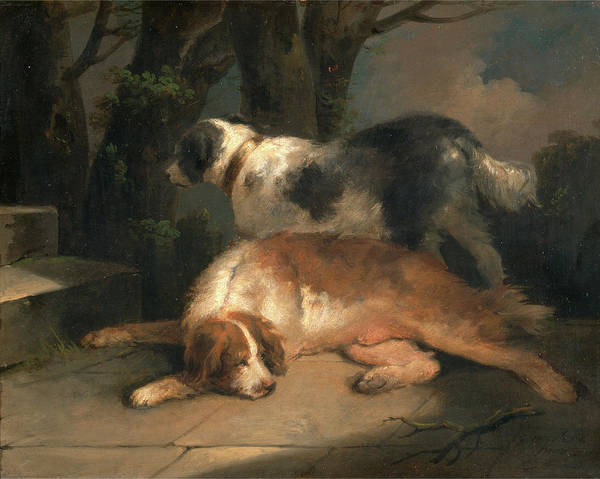 Wall Art - Painting - Setters Retrievers Signed, Lower Right G Morland | Pinx by Litz Collection