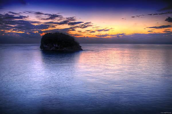 Photograph - Setting Sun by Ryan Wyckoff