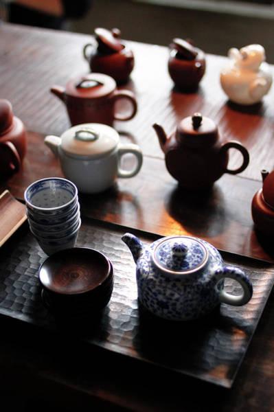 Teapot Photograph - Setting by Yoshika Sakai