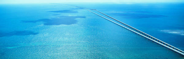 Wall Art - Photograph - Seven Miles Bridge Florida Keys Fl Usa by Panoramic Images