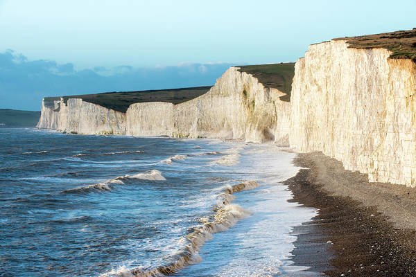 Freedom Photograph - Seven Sisters From Birling Gap by James Warwick