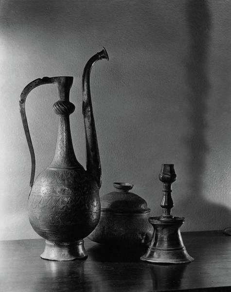 Home Accessories Photograph - Seventeenth Century Rohdian Ibrick by Joseph B. Wurtz