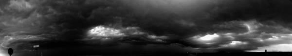 Photograph - Severe Storms Over South Central Nebraska by NebraskaSC