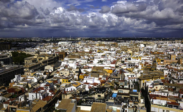 Wall Art - Photograph - Sevilla Overview - Spain by Madeline Ellis