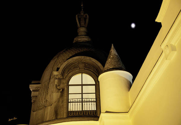 Wall Art - Photograph - Sevilla View At Night - Spain by Madeline Ellis