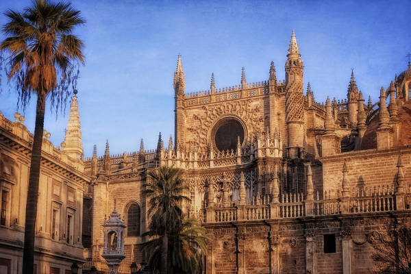 Photograph - Seville Cathedral Morning Light by Joan Carroll