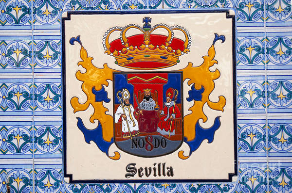 Photograph - Seville Civic Pride by Brenda Kean