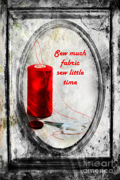 Photograph - Sew Much by Randi Grace Nilsberg