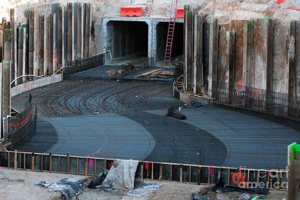 Photograph - Sewer Construction by Gunter Nezhoda