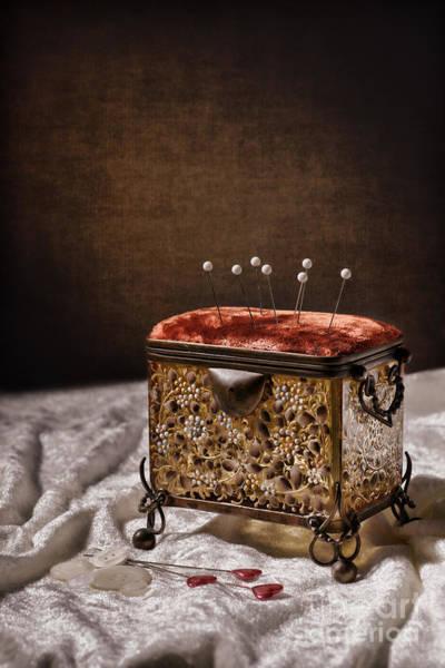 Wall Art - Photograph - Sewing Box  by Amanda Elwell