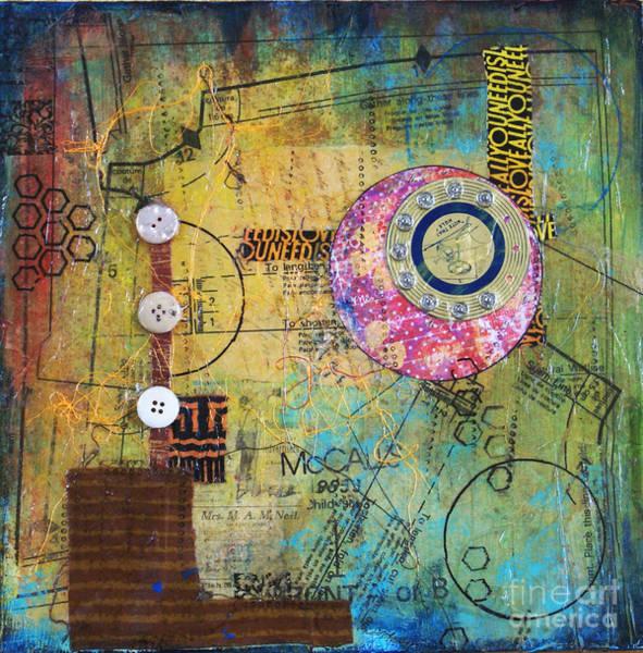 Chester Mixed Media - Sewing Box by Ishita Bandyo