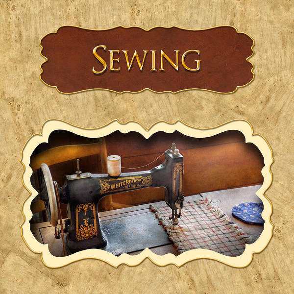 Photograph - Sewing Button by Mike Savad