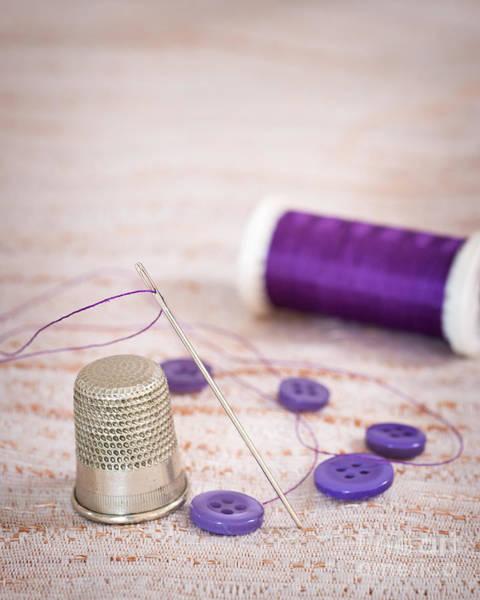 Wall Art - Photograph - Sewing Thimble by Amanda Elwell