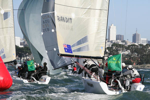 Photograph - Sf Bay Racing by Steven Lapkin