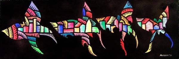 Sf Butterflies 2009 Art Print