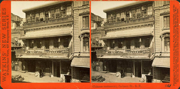 Wall Art - Photograph - Sf Chinese Restaurant by Underwood Archives