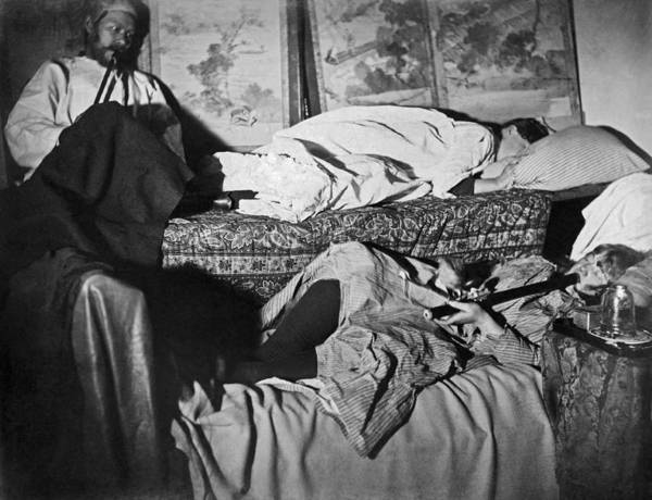Wall Art - Photograph - Sf Opium Den by Underwood Archives