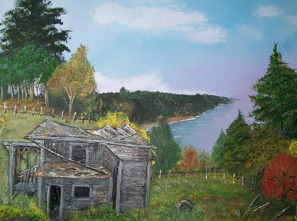 Painting - Shack By The Sea  by Sharon Duguay