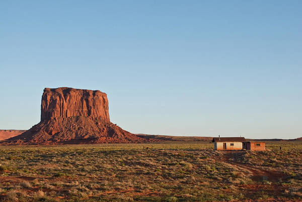 Southwest Usa Photograph - Shack Near Mitchell Butte by Jeffgoulden