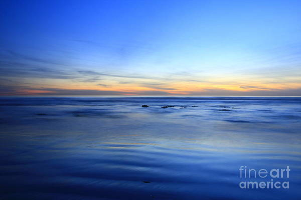 Photograph - Rocks In Surf Canvas 30x40 Print On Sale Carlsbad by John F Tsumas