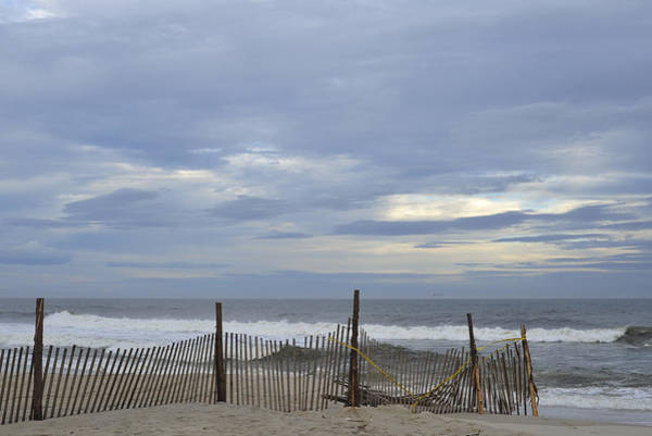 Photograph - Shades Of Blue Seaside Heights Nj by Terry DeLuco