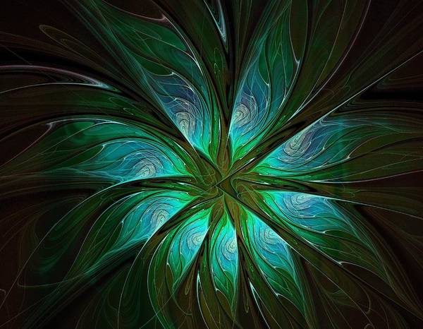 Digital Art - Shades Of Green by Amanda Moore