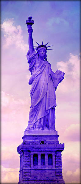 Statue Of Liberty National Monument Wall Art - Photograph - Shades Of Liberty No 6 by Stephen Stookey