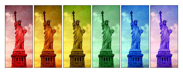 Wall Art - Photograph - Shades Of Liberty by Stephen Stookey
