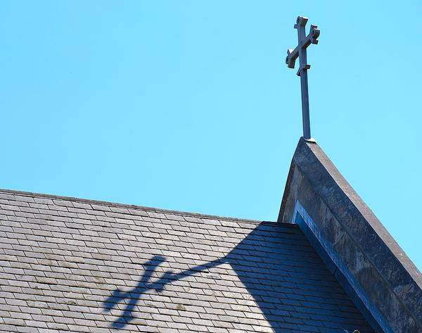 Rockdale County Photograph - Shadow Of The Cross by Tara Potts