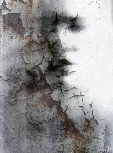 Depressed Digital Art - Shadow On A Wall by Gun Legler