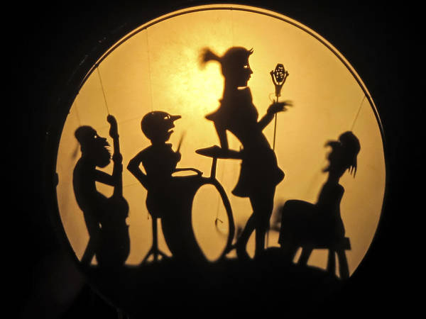 Photograph - Shadow Puppet Band Image Art By Jo Ann Tomaselli by Jo Ann Tomaselli