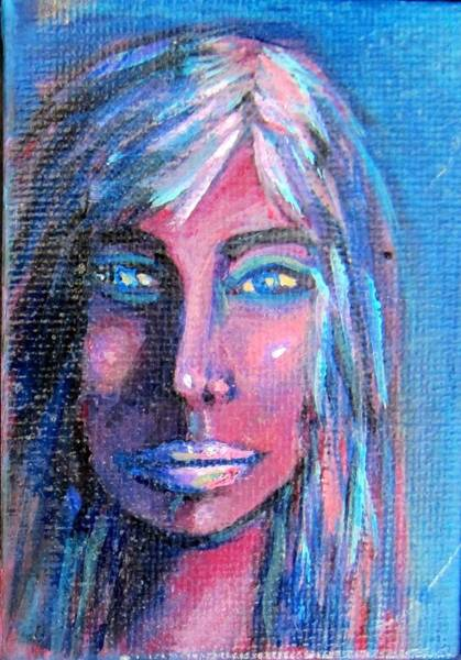 Painting - Shadow Woman by Laurie Morgan