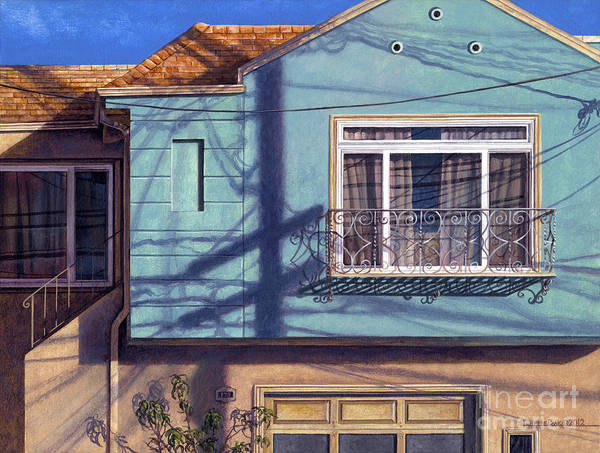 Utility Painting - Shadowdance by Lynette Cook