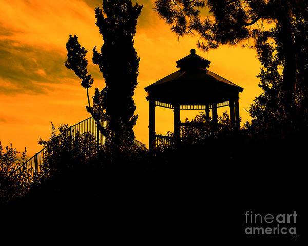 Digital Effect Photograph - Shadowlands 6 by Peter Awax