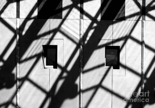 Photograph - Shadows - Parliament House - Canberra - Australia by Steven Ralser
