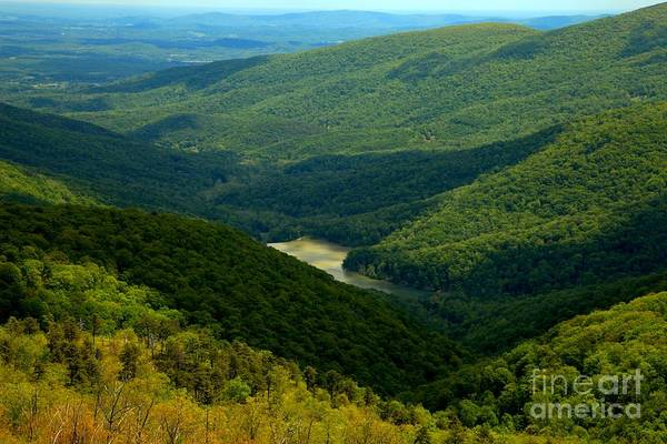 Photograph - Shadows In The Shenandoah Valley by Adam Jewell