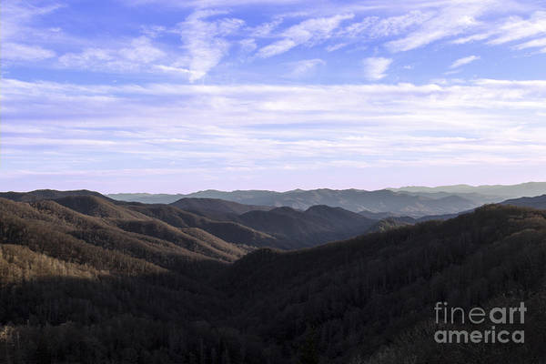 Photograph - Shadows Of The Mountains by Michael Waters