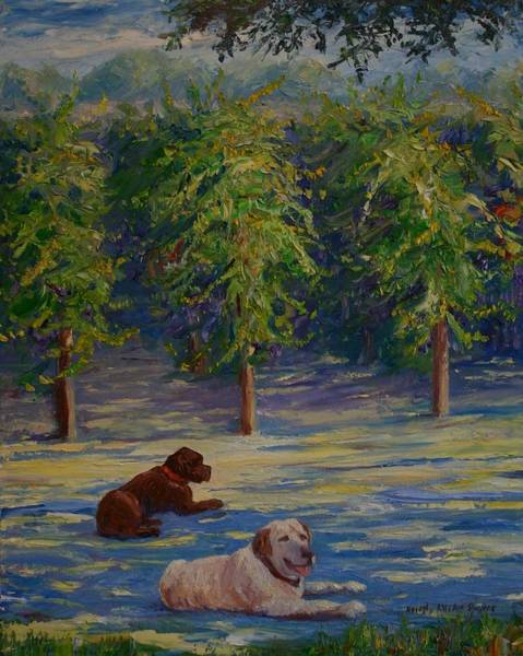 Painting - Shady Friends by Dorothy Allston Rogers