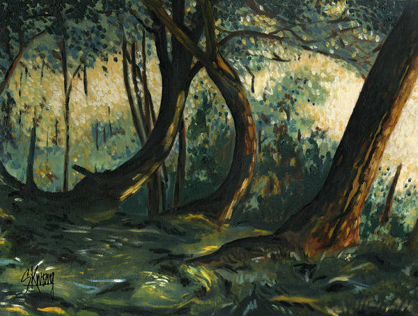 Painting - Shady Grove by Stan Kwong